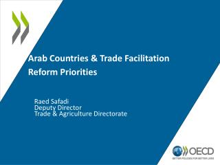 Arab Countries & Trade Facilitation Reform Priorities
