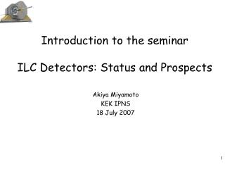 Today s Program