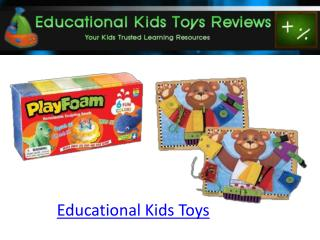 Educational Kids Toys