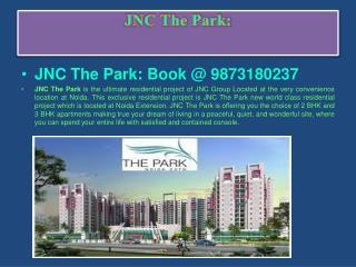 """""""Noida Extension"""" Jnc The Park Best Discount@ 9873180237"""
