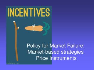 Policy for Market Failure:  Market-based strategies  Price Instruments