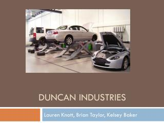 Duncan Industries