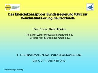 Dieter Ameling Consulting