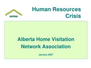 Human Resources  Crisis