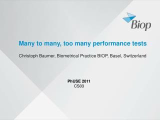 Many to many, too many performance tests