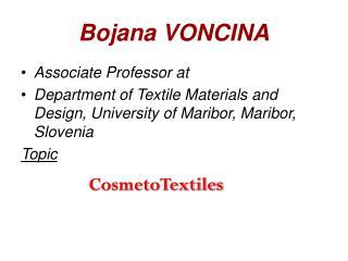 Bojana VONCINA