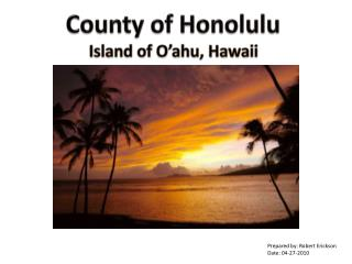 County of Honolulu