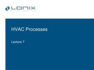 HVAC Processes