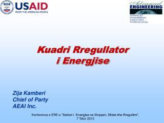 Kuadri Rregullator i Energjise
