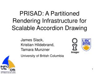 PRISAD: A Partitioned Rendering Infrastructure for Scalable Accordion Drawing