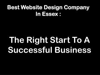 Essex Website Development