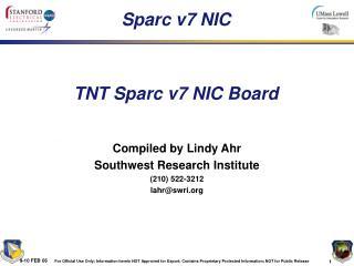 Sparc v7 NIC