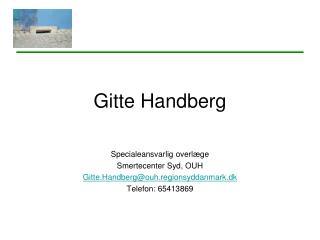 Gitte Handberg