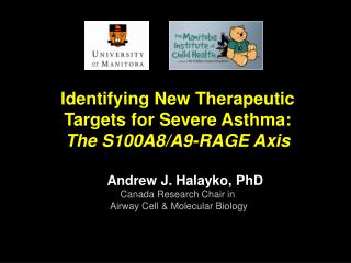 Identifying New Therapeutic Targets for Severe Asthma: The S100A8/A9-RAGE Axis