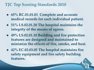 TJC Top Scoring Standards 2010