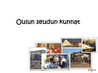 Oulun seudun kunnat