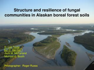 Structure and resilience of fungal communities in Alaskan boreal forest soils D. Lee Taylor