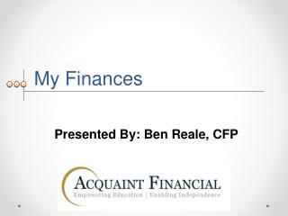My Finances