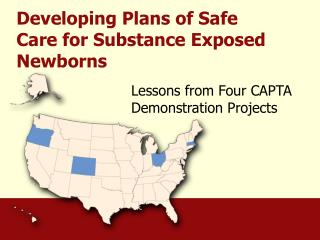 Developing Plans of Safe Care for Substance Exposed Newborns