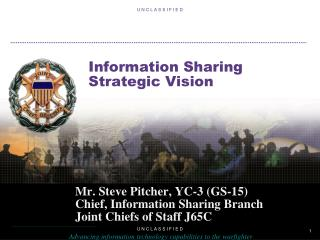 Information Sharing Strategic Vision