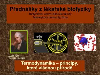 Termodynamika – principy, které vládnou přírodě