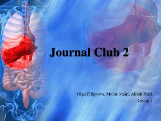 Journal Club 2