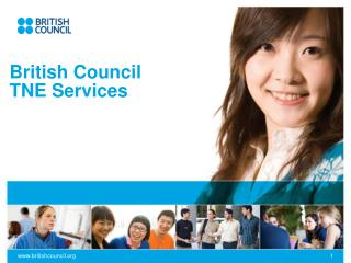 British Council  TNE Services