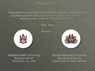 Alabama A&M University Business School Huntsville, AL, USA