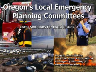 Oregon's Local Emergency  Planning Committees