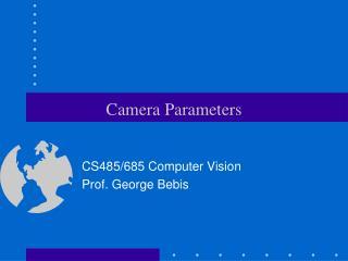 Camera Parameters