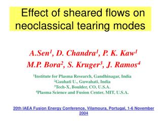 Effect of sheared flows on neoclassical tearing modes