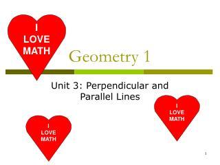 Geometry 1