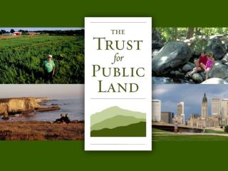 TPL's Role in Land Acquisition