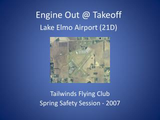 Tailwinds Flying Club Spring Safety Session - 2007