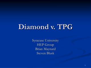 Diamond v. TPG