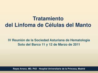 Tratamiento  del Linfoma de Células del Manto