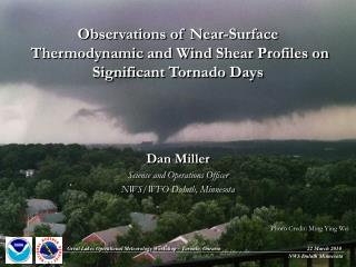 Observations of  Near-Surface Thermodynamic and Wind Shear Profiles on Significant Tornado Days