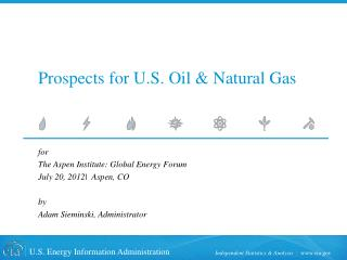 Prospects for U.S. Oil & Natural Gas