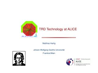 TRD Technology at ALICE