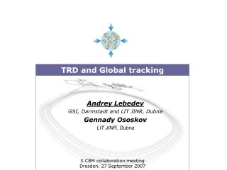 TRD and Global tracking