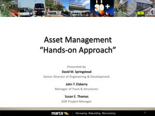 """Asset Management """"Hands-on Approach"""""""