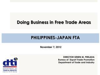 PHILIPPINES-JAPAN FTA