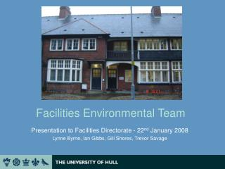 Facilities Environmental Team