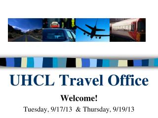 UHCL Travel Office