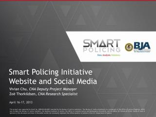 Smart Policing Initiative  Website and Social Media