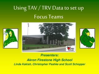 Using TAV / TRV Data to set up Focus Teams