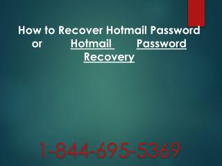 1-844-695-5369|Online Hotmail Tech support Number