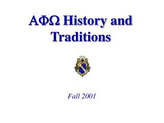 AFW History and Traditions