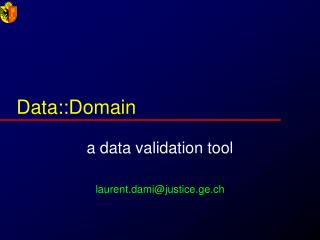 Data::Domain