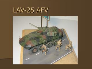 LAV-25 AFV